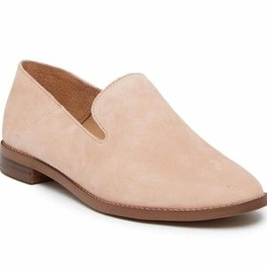 Franco Sarto | Round Toe Suede Leather Loafer
